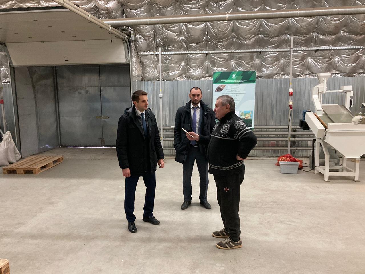 Визит заместителя председателя правительства Воронежской области